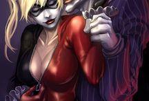 Harley Quinn & Joker / by Courtney Gatewood