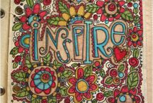 Doodles and Lettering / by Jill Huff