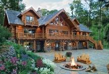 Log Cabins / by Rae Hoffman