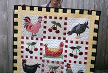 Quilting Chickens / by Betsy Irvine Johnson