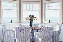 Decorating with Blue / A natural color choice for any house near the shore, blue evokes the ocean and sky, and sums up what we love about being by the sea. / by Coastal Living