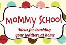 Mommy's School Ideas / by Niovys Martinez