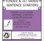 Sentence Starters / by Buysellteach