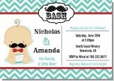 Little Man Mustache Baby Shower Theme / This is one of our new themes and it is all about that baby stache! The most adorable thing to ever happen to baby showers! / by Candles & Favors