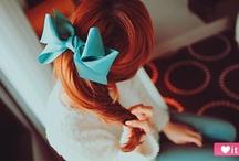 Braids, Bows, Beauty. / by Lailee LaBarbera