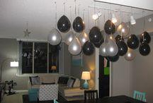 wedding reception decor ideas / by Michele Myankazt