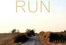 run. / by Ashley Laughlin