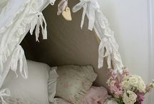 DECOR: EASTON'S NEW ROOM / Toddler beds decor, furniture, bedding, also used asa play room / by Alabama Chic