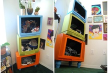 shelves / by Steph Bargainfun