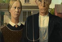 American Gothic Parody / by Julie Lane