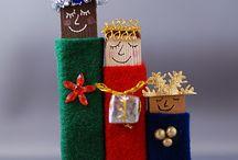 Kids Christmas Craft Tutorials / by Tamara Burke