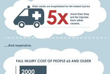 Fall Prevention Infographic / by Today's Caregiver