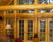 up north in a log mansion on a lake / by Laurie Lonski