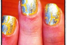 PEJ Nails / I love nail polish! I wear colourful nails and always look for inspiration.  / by Leila Pejman