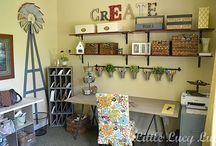 Craft room / by Kimberly JH