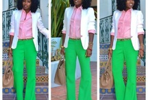 Pink and Green Style / by Precious 1908 Pearl