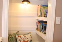 Cozy Reading Nooks and Home Libraries / Cozy reading nooks, inspired by creative pinners everywhere!  / by Hay House
