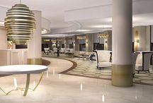 Renders - Hotel Bahía - Spain / Renders realizados para Gastón & Daniela sobre proyecto de reforma e interiorismo del lobby, cafetería, restaurante y habitaciones. / by AB positivo 3D