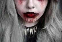 Halloween makeup ideas / by Bizz Hiebert