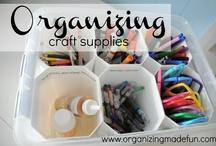 Craft & Scrapbooking Storage & Organization / by Audrey C. Braun