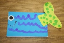 Fish for Kinder / If it lives in the water and is good for kinder aged learners I will put it here!  =)   / by Simply Kinder