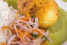 peruvian food / by Rebecca Neyra