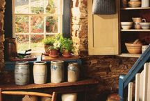 Primitive Kitchens / by Claire Miles