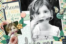1-Page Layouts (Digital Scrapbooking) / Inspiration/To be Scraplifted / by Amara Van Lente