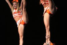 Cheerleading: Stunts: Bow & Arrow, Heel Stretch, Scorpion & Scale  / Check out many related boards for cheer 784 927 c958 116 990 a1 994 adding scorpion/scale 2-4 1001 x1001 w1216 e1217 f1465 g1799 h1825 / by Kythoni