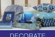 Indigo Decoration Ideas / KnowMore and Wayfair.com have collaborated to provide you with all the best ways to decorate your home with indigo! / by KnowMore TV