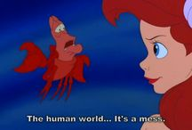 Little mermaid obsession  / by Sara Foster