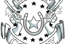 Ink  / Western-inspired tattoo designs.  / by Head West Outfitters - Western Wear