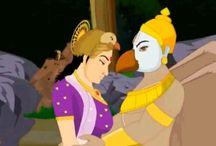 Krishna And Garuda Stories / by Navin Daswani