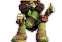Teenage Mutant Ninja Turtles / by Anna Somodevilla