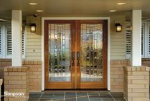 Simpson Mastermark Collection / Wood exterior doors from Simpson Door Company / by Simpson Door Company