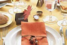 Fall/Thanksgiving Decor, & Food / by Frances Barnum