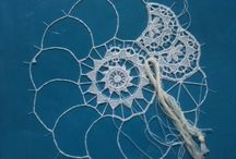 lace making - encaje / mostly needle lace / by eija tii
