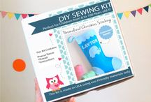 Sewing Kits - Felt Toy Sewing Kit / Sewing kits are really fun gift or a craft project to make at home, I would love to make them all don't you? / by Maria Palito