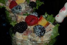 :p salads / by Anna Dy-Belen