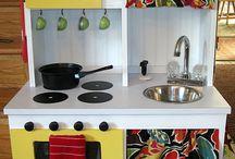 Play Kitchens for Capri / by Jenni Escobar
