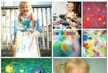 Preschool Sensory/Messy Table / by Lindsey Meyer