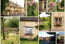 English stone buildings / by Angela Ridge