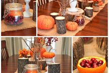holiday decor/ table centrepieces / by Victoria Koehler