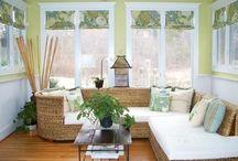 Roman Shades / Roman Shades - always classic!  http://www.toledo-window-treatments-windows-blinds-coverings-drapery.com/hard_lines.html / by Window Treatments