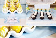 Yellow Modern Baby Shower / by Moments that Define Life