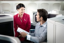 Our cabins / Check how different travel classes provide passengers with a perfect balance on space, comfort and relaxation! / by Cathay Pacific Airways