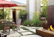 Garden: Inspiration for dream DIY backyard / by Julia Patrick
