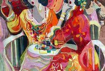 ART: Hotties in Hats / by Greta Hansen-Money