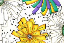 Zentangles and Doodles / Ideas for drawing - when I have time!!! / by Debbie O'Shea