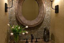 Half Bath Ideas / by Christine Crawford Smith